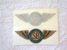 SENSENICH BROTHERS SB PROPELLER AIRCRAFT DECAL SET OF 2