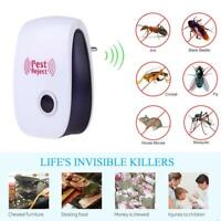 Anti Moustique Insecte Souris Rongeur Mouche Nuisible Repulsif Ultrasons