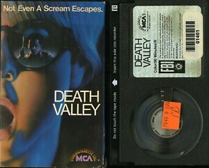 DEATH VALLEY BETA CATHERINE HICKS PETER BILLINGSLEY PAUL LE MAT MCA VIDEO TESTED