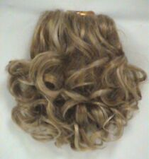 Combs ponytail curly hair extensions ebay short curls curly hair ponytail hairpiece w interlocking french combs lark 1696 pmusecretfo Images
