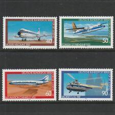 GERMANY - BERLIN - 1980 - AVIATION HISTORY - 3RD SERIES - SET (4V) - UM / MNH