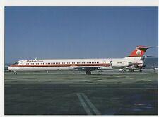 Meridiana Douglas MD-83 Aviation Postcard, B008