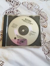Madonna very rare Hanky panky promotional cd