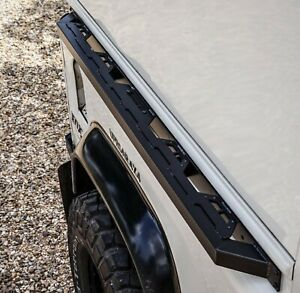 Land Rover Defender 90 Stainless Steel Tub Sliders - Uproar 4x4
