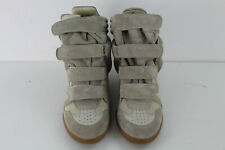 Isabel Marant Color Beige Gamuza Étoile Bekett Sneakers size EU 39
