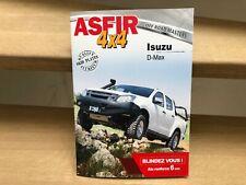 ASFIR offroad modifications & optimisations for Isuzu D-Max vehicles brochure