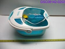 No Box/Chipped HoMedics Shower Bliss Foot Spa Bath P/N Fb-625H