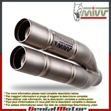Mivv Exhaust Muffler Double Gun Titanium for Kawasaki Zx-6 R 636 2013 > 2016