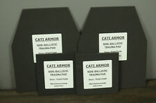 CATI Armor 10mm Trauma Pads Backers Pair 10x12 6x6 Pads For AR500 Plates SWIM