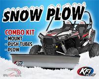 KAWASAKI PRAIRIE 360 03 04 05 06 07 08 10 WARN SNOW PLOW MANUAL BLADE LIFT KIT
