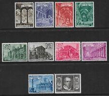More details for vatican -1949 - basilicas set of 10- mm - sg 139a/148a - cat £95