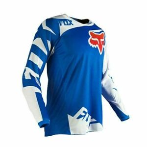 Men's FOX Jersey 180 Race Dirt ATV MX Off-Road Shirt Motocross DH MTB Bike Tops