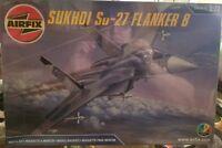 Airfix Model Kit Fighter Jet Sukhoi Su-27 Flanker B 05025 NEW Sealed Wrap 1:72