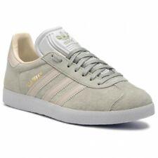 adidas Originals Gazelle W Trainers - Ash/Clear Brown - CG6065 - Size UK 3.5-8.5