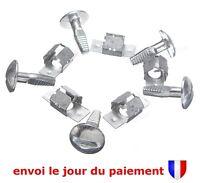 Lot 5 Clips + 5 Vis de Fixation Protection Sous Moteur pour Peugeot et Citroen