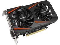 GIGABYTE Radeon RX 560 16CU DirectX 12 GV-RX560GAMING OC-4GD REV2.0 4GB 128-Bit