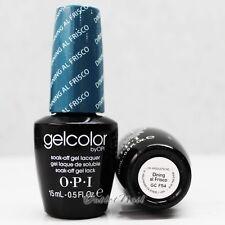 OPI GelColor San Francisco Collection - GC F54 DINNING AL FRISCO 15mL Blue Color