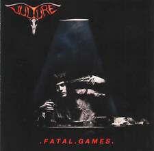 VULTURE - FATAL GAMES (1990) Thrash Metal CD Jewel Case+FREE GIFT