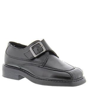 School Shoes  Boys Black Shoes by Scott David  Little Boys Size 8 M