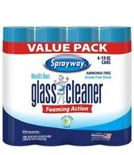 Sprayway® Glass Cleaner (19oz., 4pk.)