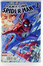 SIGNED AMAZING SPIDER-MAN #1 DAN SLOTT GIUSEPPE CAMUNCOLI FIRST MARVEL AVENGERS