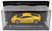 Altaya 1/43 Scale AL12319H - 2014 Lamborghini Huracan LP 610-4 - Yellow