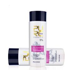 Keratin Smoothing Treatment 2 Bottle 100ml 5% Formalin Keratin Hair Treatment