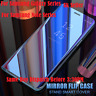 Flip Standing View Mirror Case For Samsung Galaxy 6 7 8  8+ 9 10 Note 4 5 8 9 10