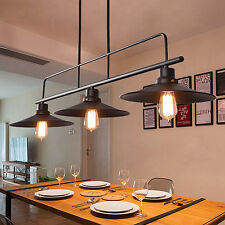 Large Chandelier Lighting Black Pendant Light Bar Lamp Kitchen Ceiling Lights