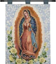 26X36 OUR LADY OF GUADALUPE TAPESTRY WALL HANGING - HWTOLG