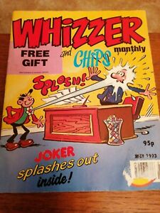 The Best Of Whizzer And Chips Monthly May 1993 Joker Fuss Pot Odd Ball
