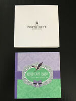 Mint 1/2 oz 99.99% Silver Proof 2018 Newborn Baby Gift Coloured 50 Cent Coin