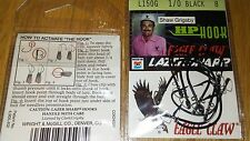 4-pack lot/ 32 tube bait hook Eagle Claw Shaw Grigsby HP Seaguard Size 1/0 L150G