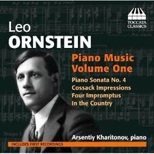 Arsentiy Kharitonov, Leo Ornstein - Piano Music 1 [New CD]