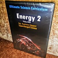 ENERGY 2 DVD Aurora Lipper.Thermodynamics. 14-Week Course.Weather.Solar.SEALED!