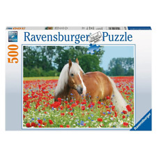 Ravensburger Horse in the Poppy Field Puzzle 500pc