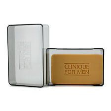 Clinique Extra Strength 5.2 oz / 150 g facial soap With Dish for men