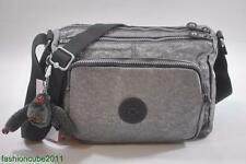 New With Tag Kipling RETH Shoulder Cross Body Bag HB3814 - Silver Glimmer