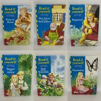 6 Ladybird Learn to Read Books - Read It Yourself - Level 3 - GC Pre-Owned