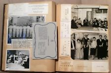 Navy USS TOLEDO Private Officer Scrapbook 1958, Original Photos Memorabilia