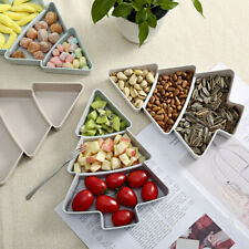 Creative Plastic Dry Fruits Storage Box Fruit Plate Home Snack Plate Candy Dish