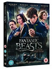 Fantastic Beasts And Where To Find Them DVD New Sealed Region 2 UK