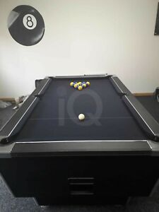 Pool Table Recovers Service Black Recloth Re Baize Refelt Repair North West UK