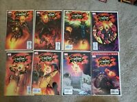 GHOST RIDER DANIEL WAY 1-8 all NM Corben issues