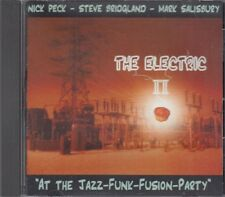 Electric Pi At Jazz Funk Fusion Party CD Nick Peck Steve Bridgland Salisbury