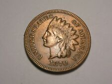 1870 Indian Head Cent (XF & Attractive)