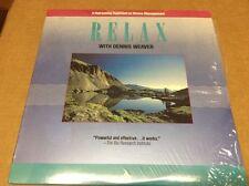 Relax With Dennis Weaver Laserdisc LD ***LIKE NEW***
