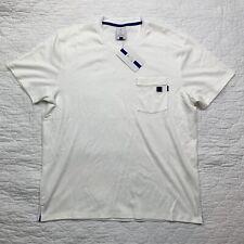 Nike Men's Court RF Roger Federer Essential White Tennis Top Size L AH6764-100