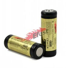 2X Efest 18500 1500mAh 3.7v Protected Li-ion Rechargeable Battery Button top UK