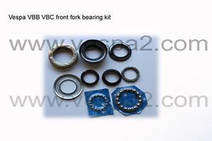 Vespa Parts Front Fork Bearing Kit VBB VBC VLB Super Sprint classic scooter